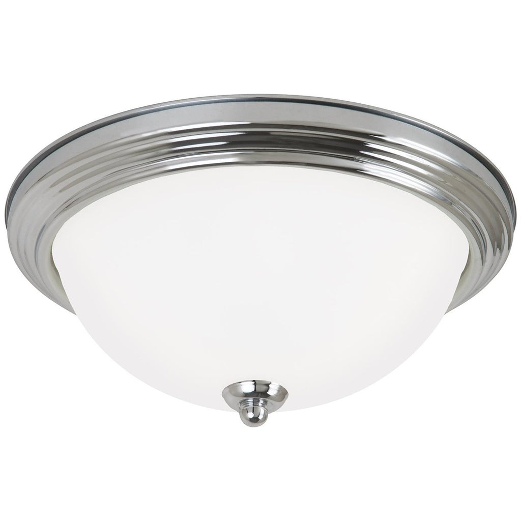 Sea Gull Lighting 3-Light Ceiling Flush Mount
