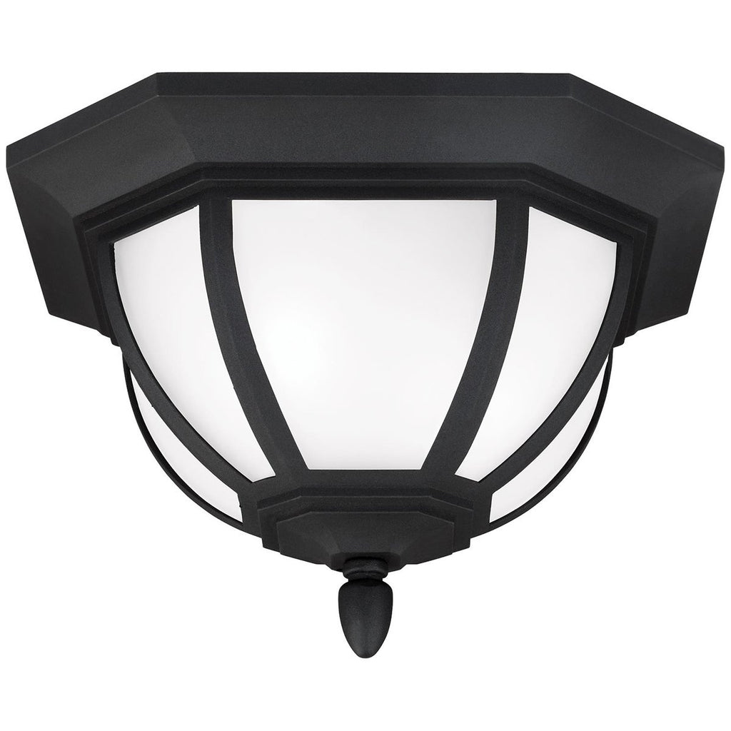 Sea Gull Lighting Childress 2-Light Outdoor Ceiling Flush Mount