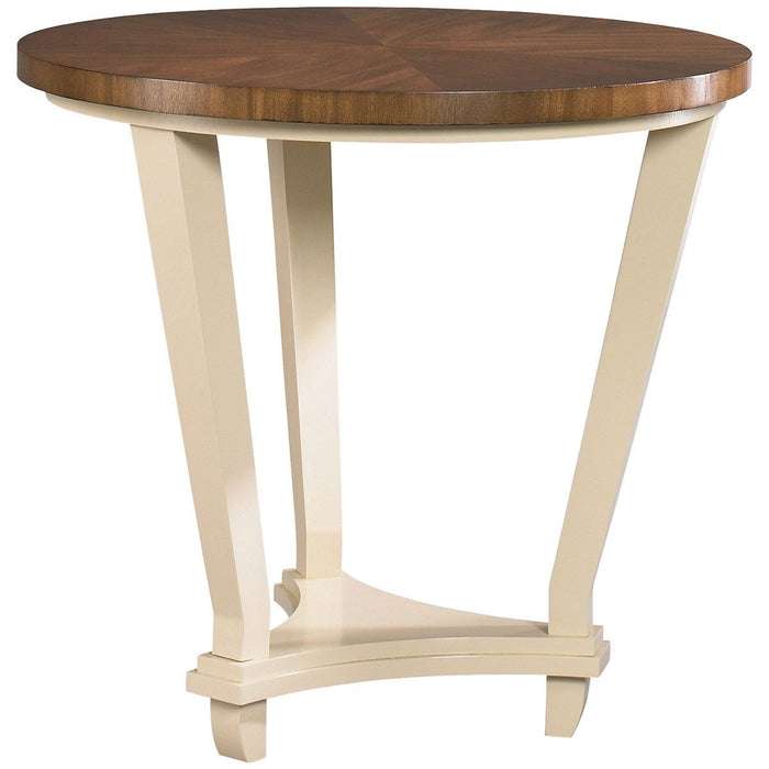 CTH Sherrill Occasional Round Lamp Table 325-930