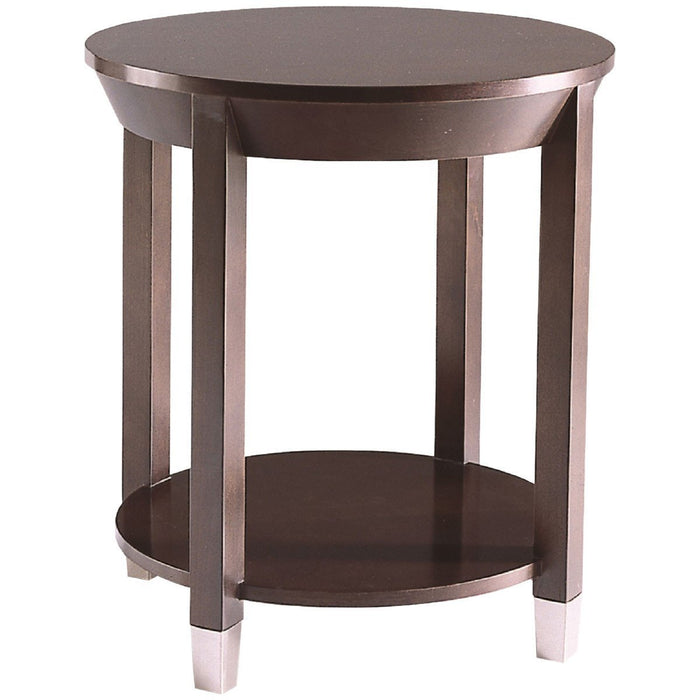 CTH Sherrill Occasional Round Lamp Table 340-930