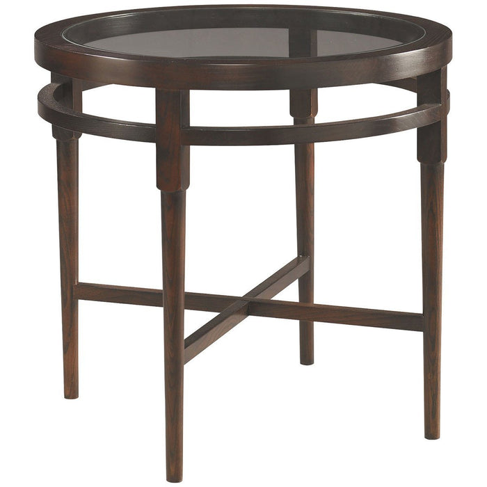 CTH Sherrill Occasional Round Lamp Table 356-930