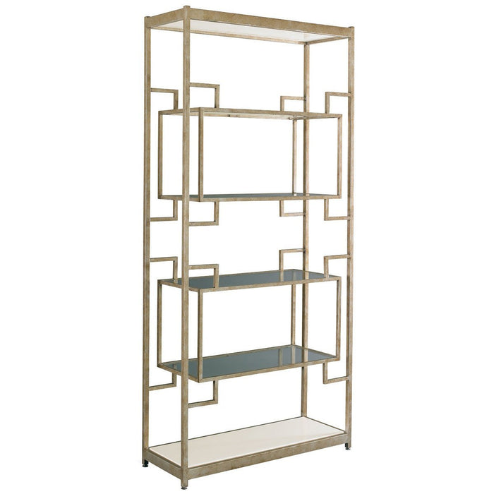 CTH Sherrill Occasional Infinity Platinum Channel Etagere
