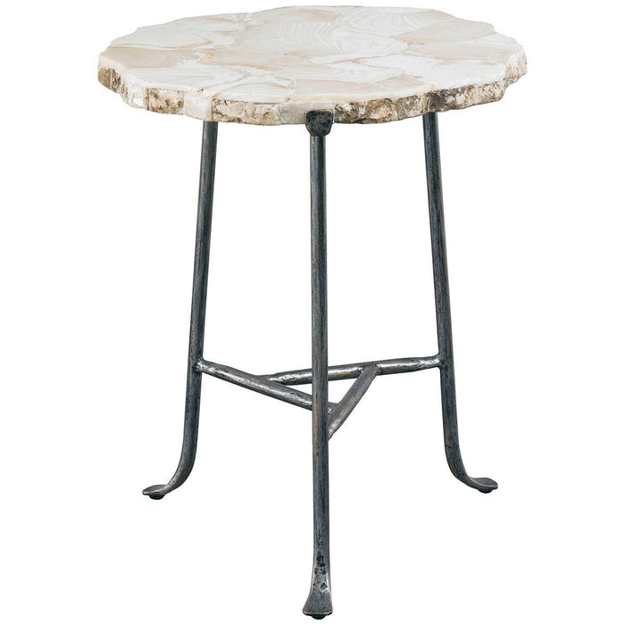 CTH Sherrill Occasional Earth & Sea Martell Sliced Spot Table