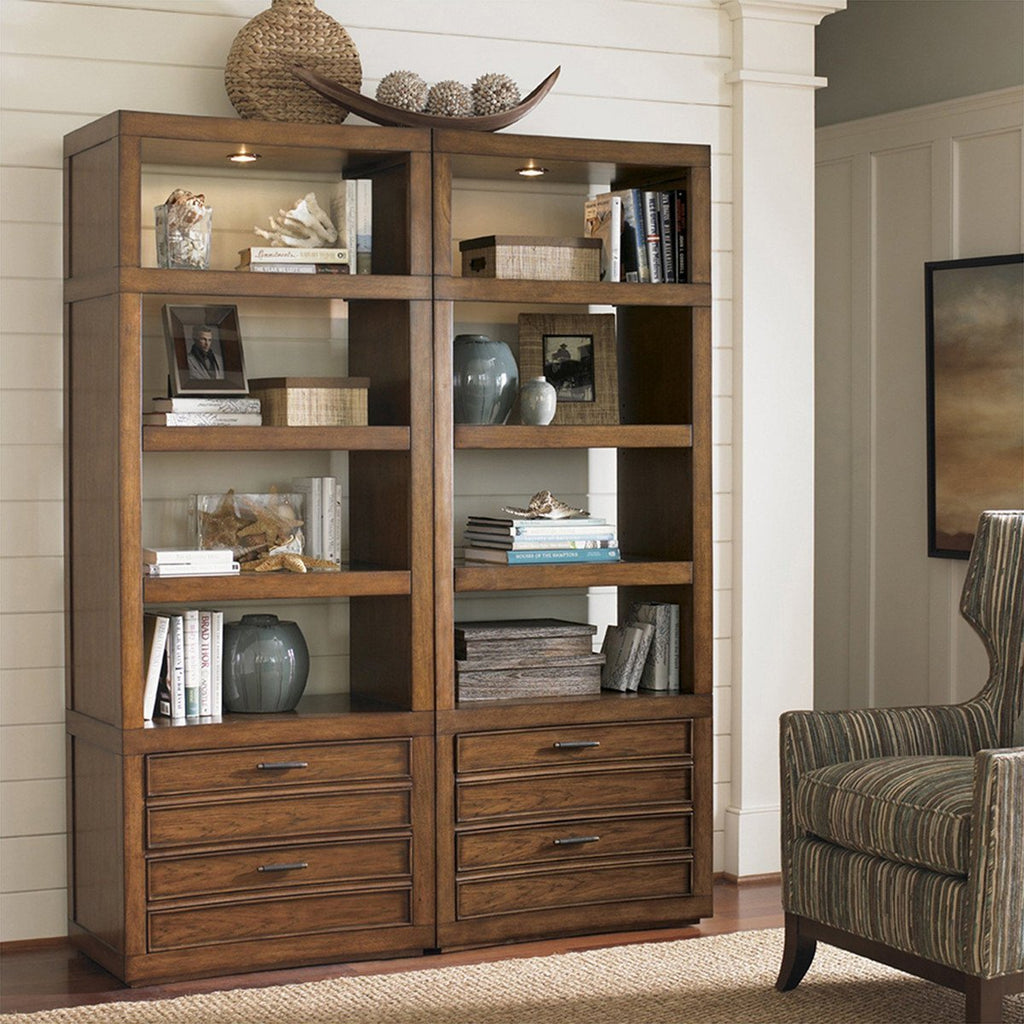 Sligh Longboat Key Crystal Sands Bookcase 279LK-645