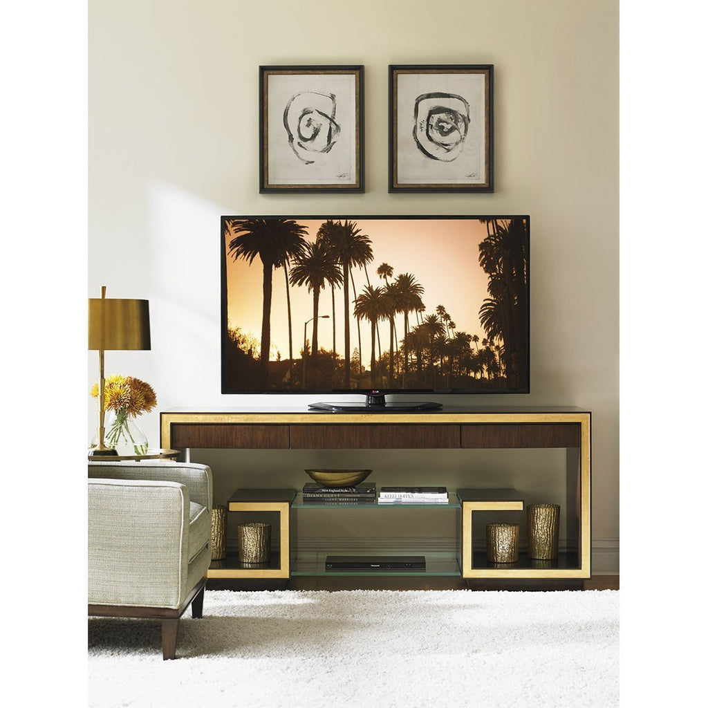 Sligh Bel Aire Dark Brown Rodeo Media Console