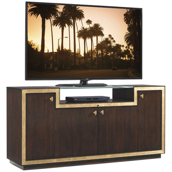 Sligh Bel Aire Dark Brown Palisades Media Console