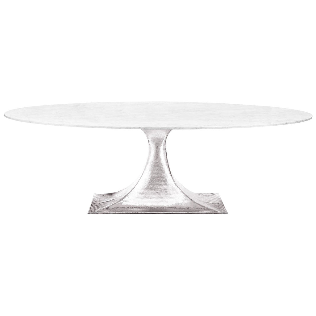 Bungalow 5 Stockholm 95 Inch Oval Dining Table