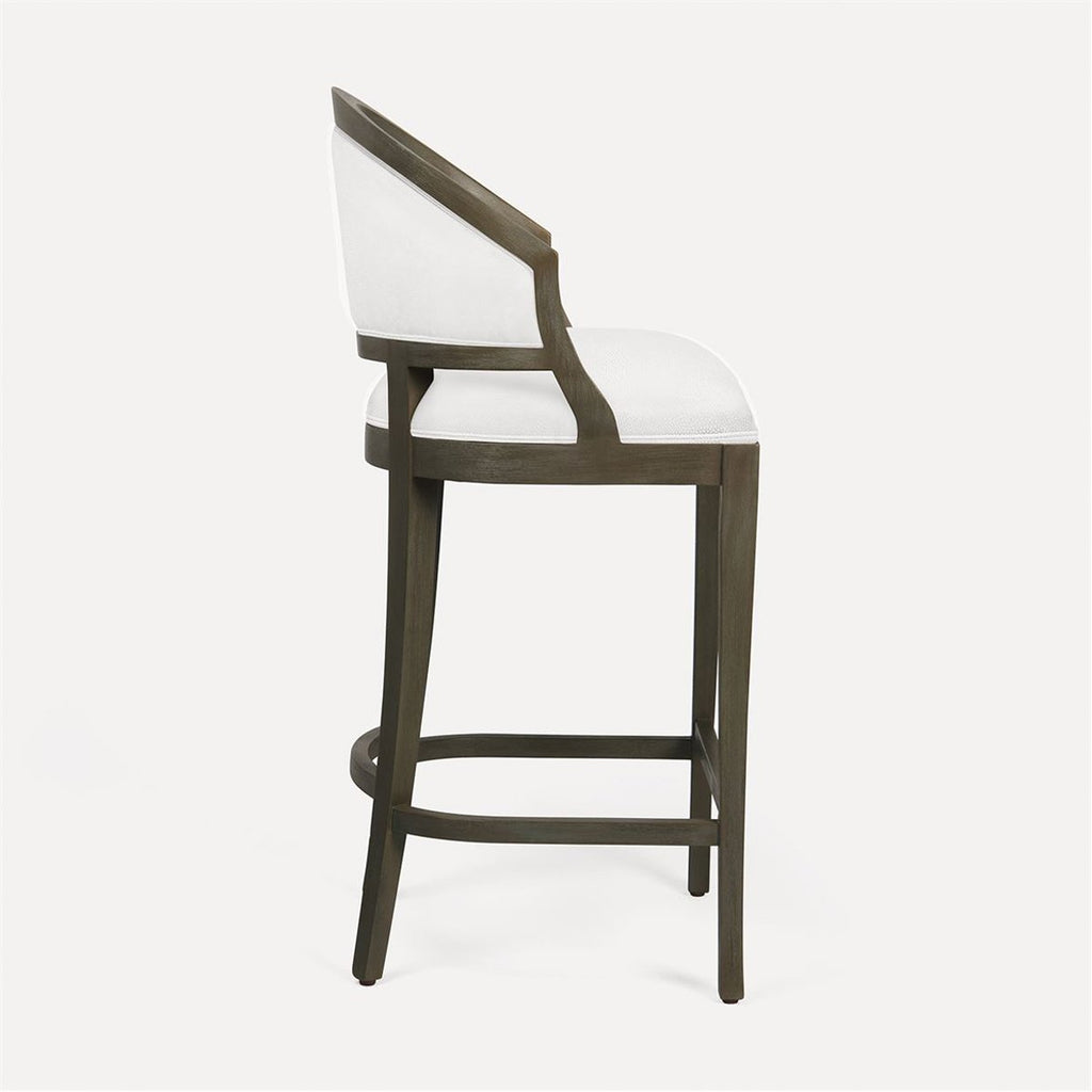 Made Goods Sylvie Bar Stool in Rhone Leather