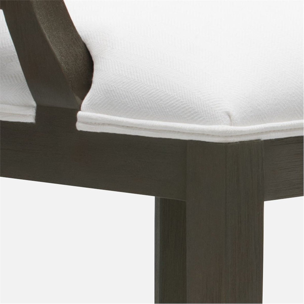 Made Goods Sylvie Bar Stool in Mix Danube High-Performance Fabric