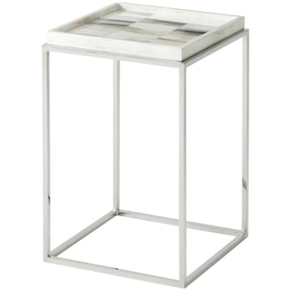 Theodore Alexander Quadrilaterals Square Accent Table