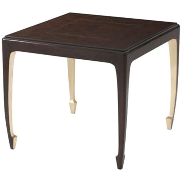 Theodore Alexander Golden Curve Game Table