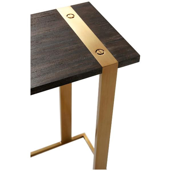 Theodore Alexander Bishop Cantilever Accent Table