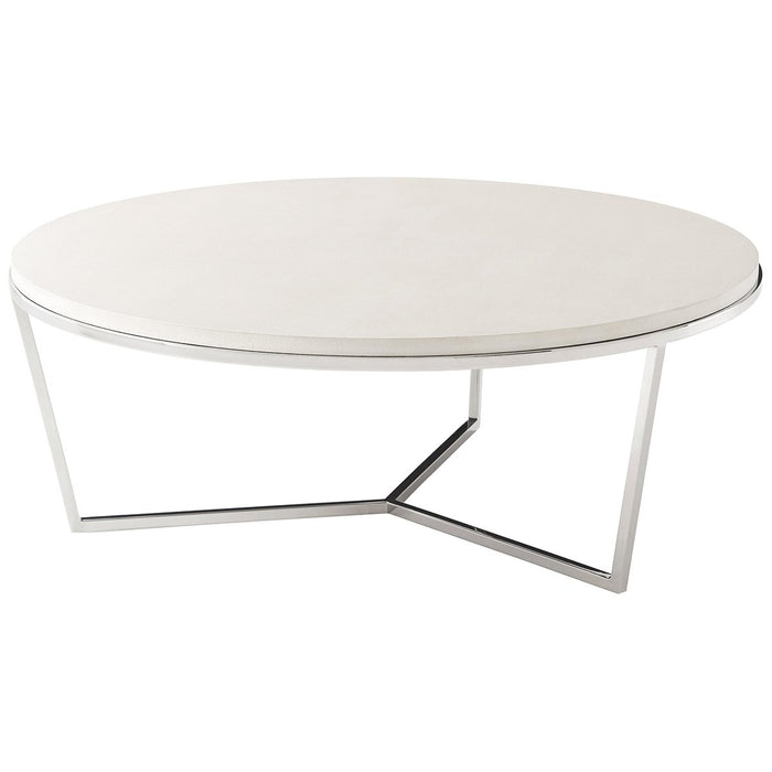 Theodore Alexander Fisher Round Cocktail Table