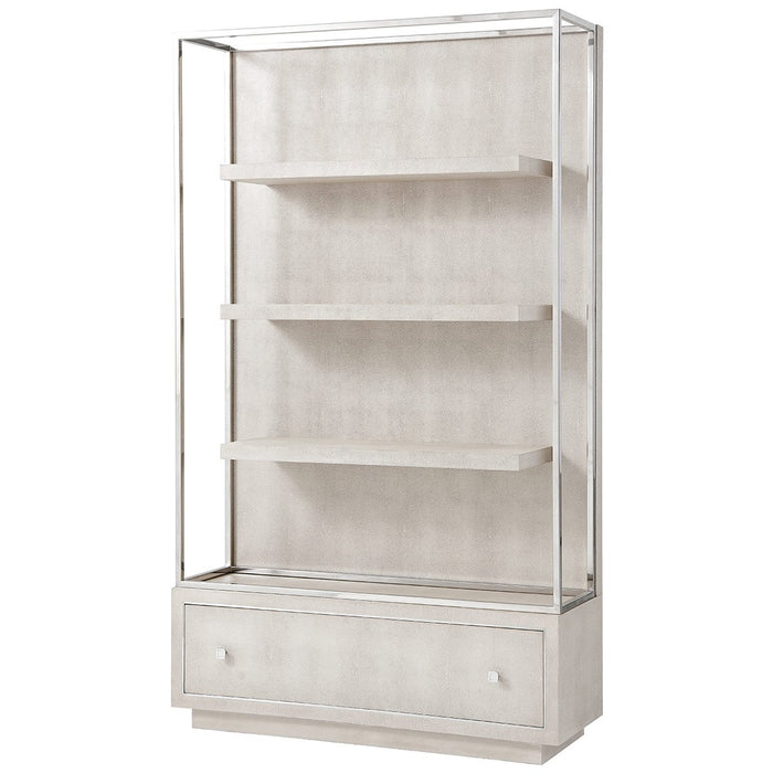 Theodore Alexander Wesson Open Bookcase