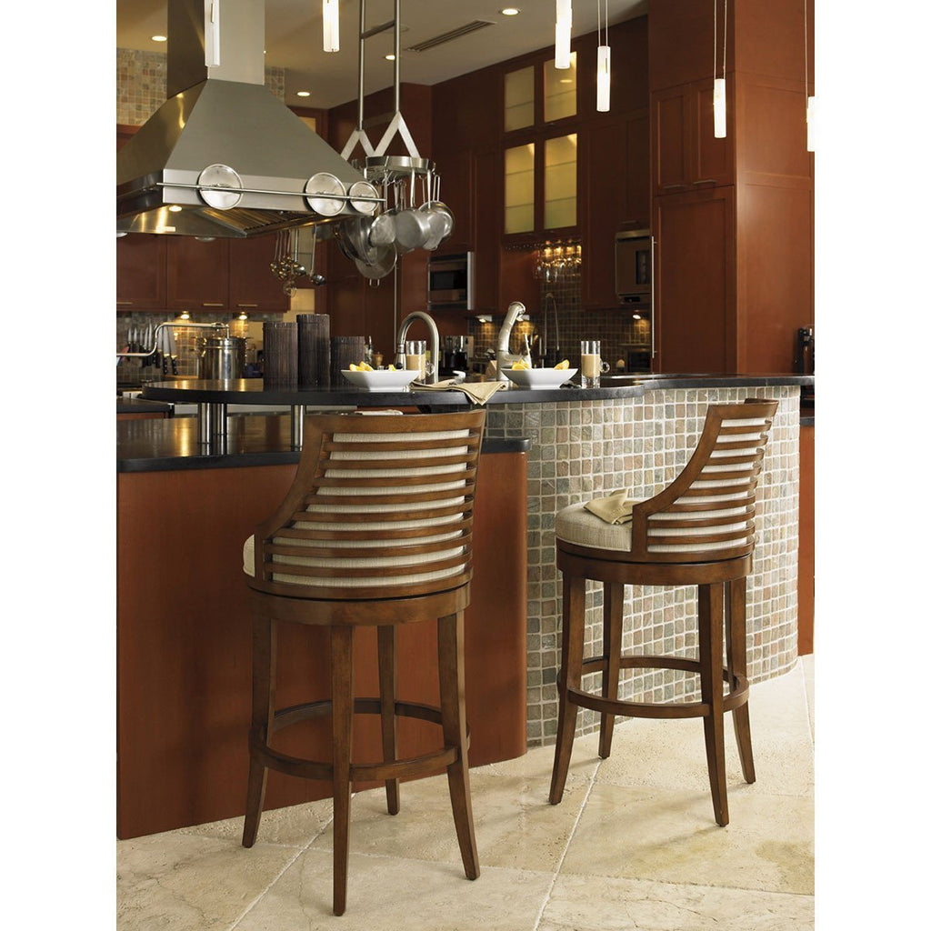 Tommy Bahama Ocean Club Cabana Swivel Bar Stool 536-816-01