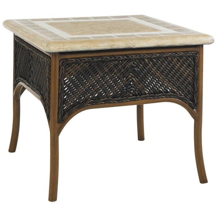 Tommy Bahama Island Estate Lanai Square Accent Table