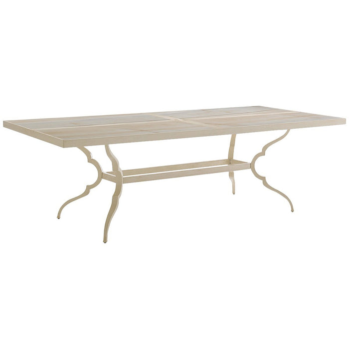 Tommy Bahama Misty Garden Dining Table with Porcelain Top