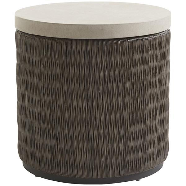 Tommy Bahama Cypress Point Ocean Terrace Round End Table