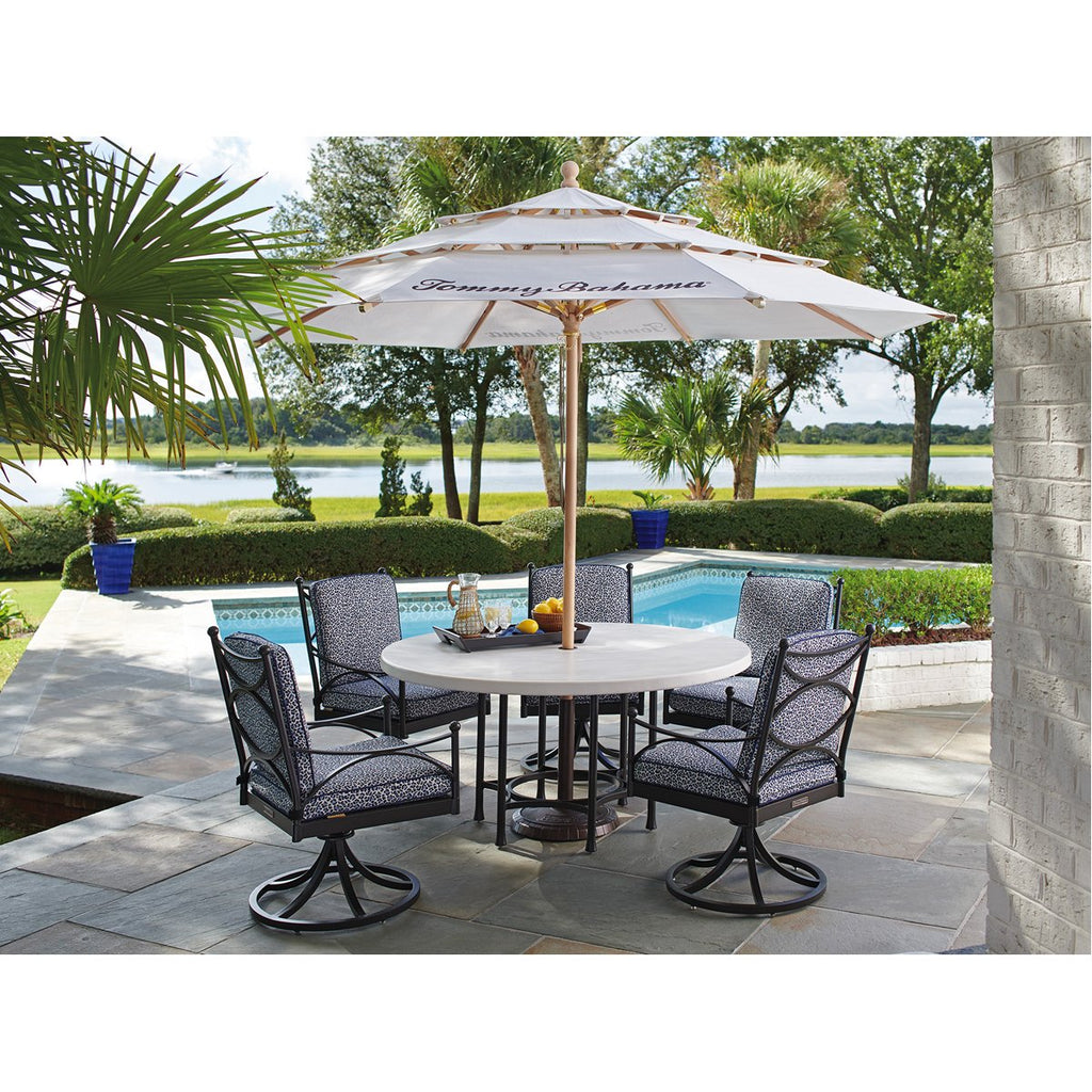 Tommy Bahama Pavlova Round Outdoor Dining Table