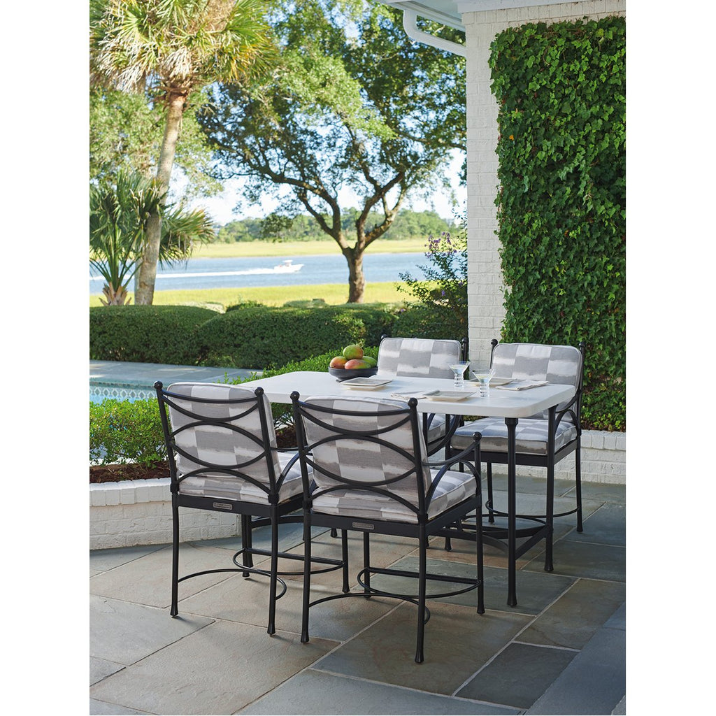 Tommy Bahama Pavlova Hi-Lo Outdoor Bistro Table