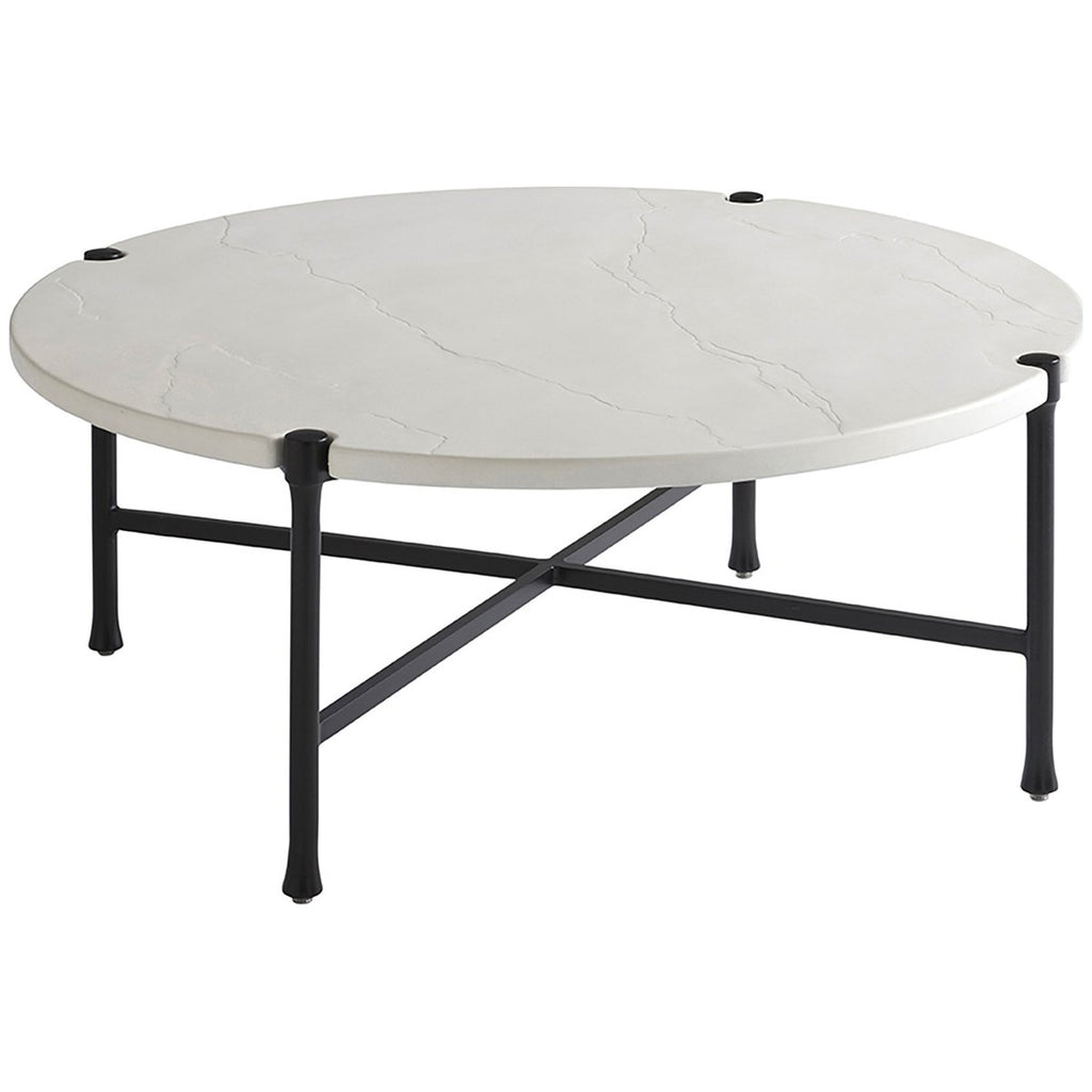 Tommy Bahama Pavlova Round Outdoor Cocktail Table Outdoor Tables