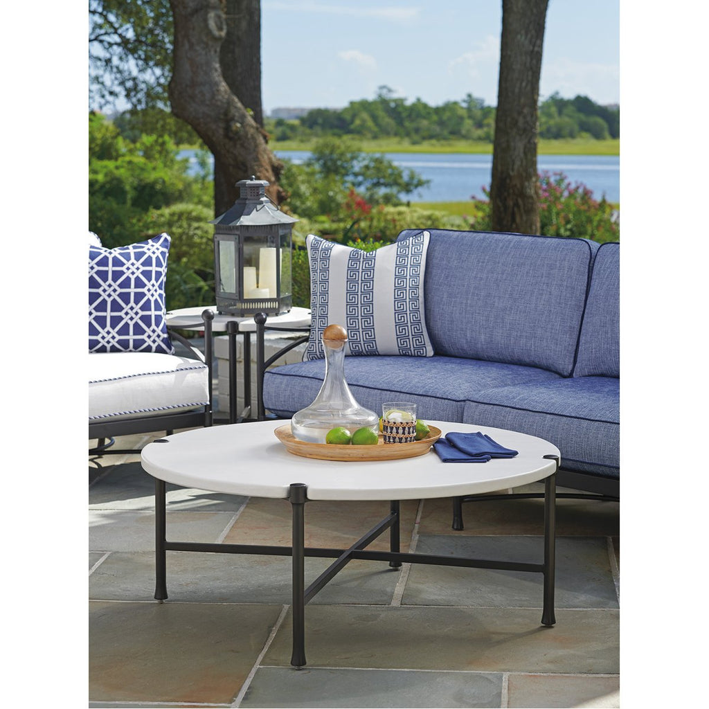 Tommy Bahama Pavlova Round Outdoor Cocktail Table