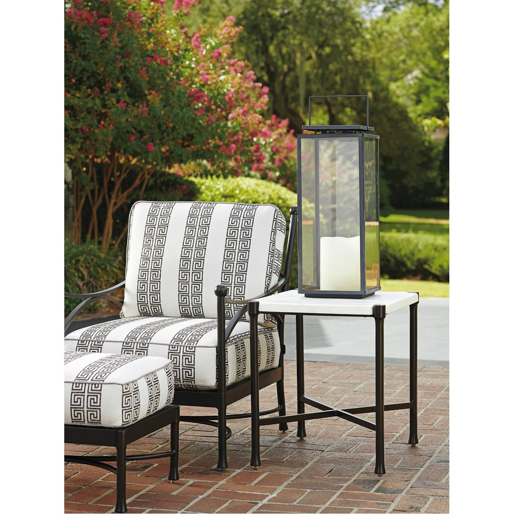 Tommy Bahama Pavlova Rectangular Outdoor End Table