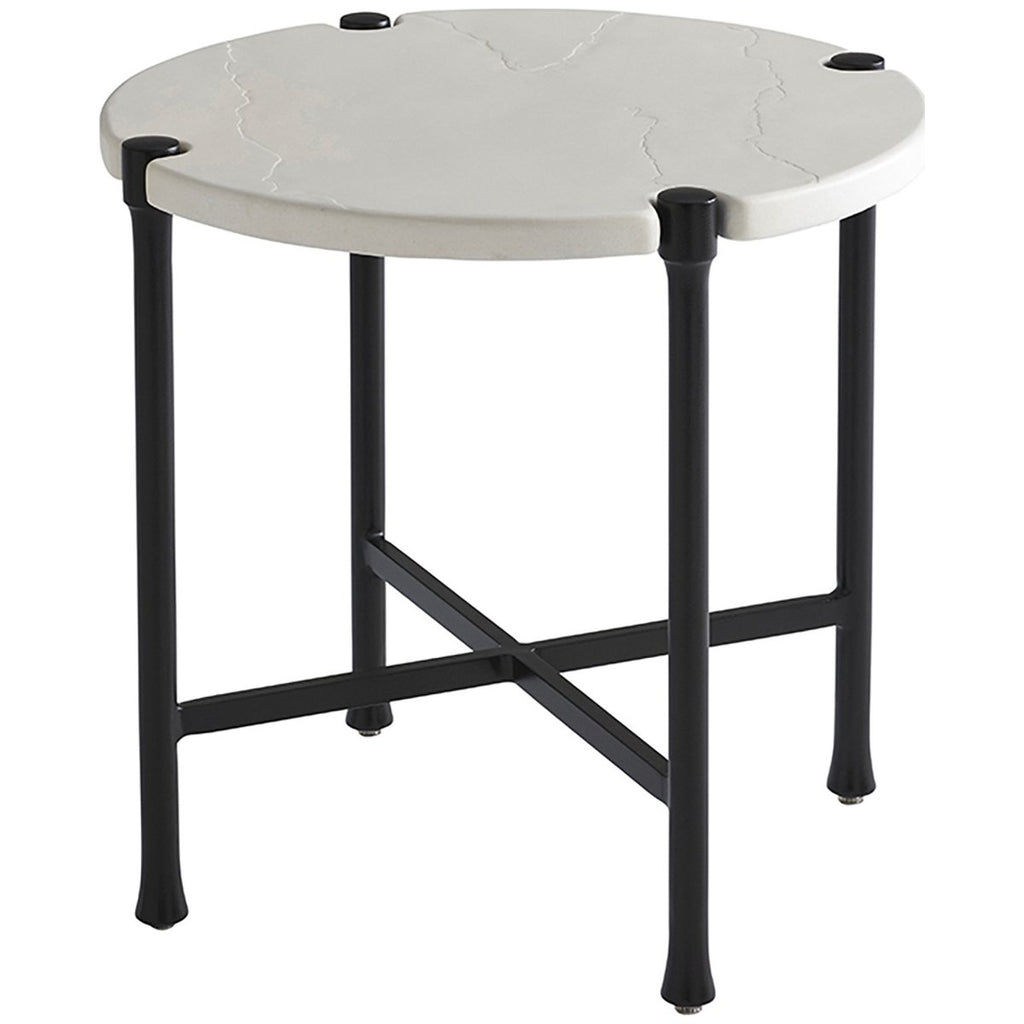 Tommy Bahama Pavlova Round Outdoor End Table Outdoor Tables