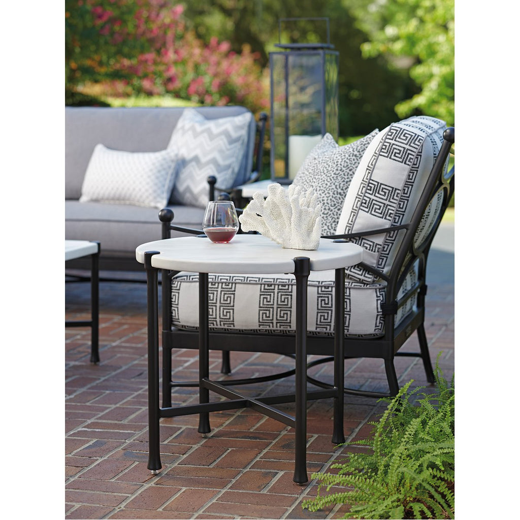 Tommy Bahama Pavlova Round Outdoor End Table