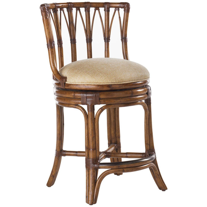 Tommy Bahama Island Estate South Beach Swivel Counter Stool 531-815-01