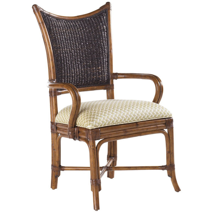 Tommy Bahama Island Estate Mangrove Arm Chair Set of 2 531-881-01