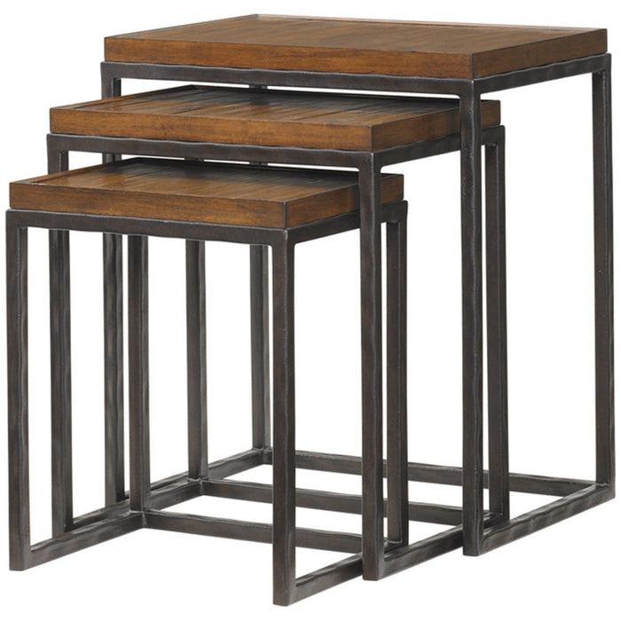 Tommy Bahama Ocean Club Set of 3 Ocean Reef Nesting Tables 536-942