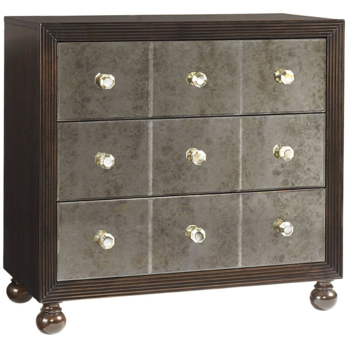 Tommy Bahama Royal Kahala Starlight Mirrored Nightstand 537-624