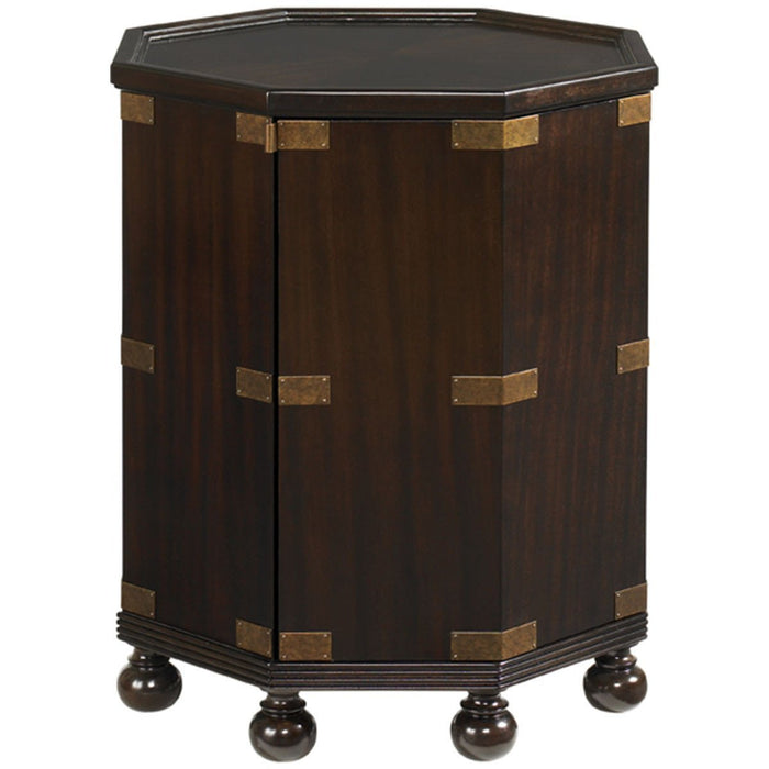 Tommy Bahama Royal Kahala Pacific Campaign Accent Table 537-952