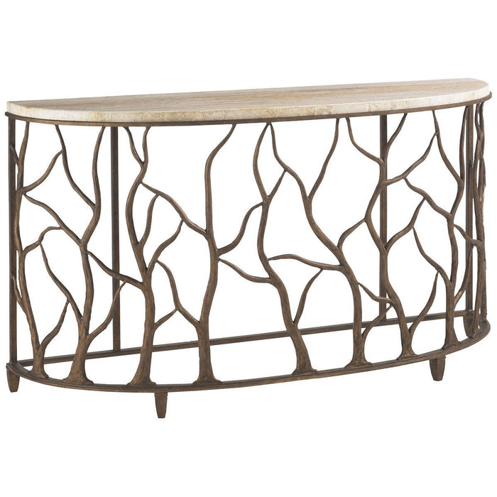 Tommy Bahama Road To Canberra Bannister Garden Console Table