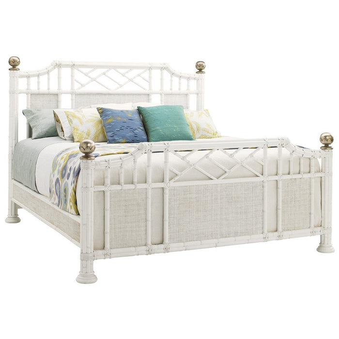 Tommy Bahama Ivory Key Pritchards Bay Panel Headboard