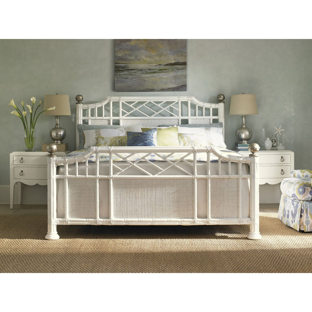 Tommy Bahama Ivory Key Prichards Bay Panel Bed 543-133C