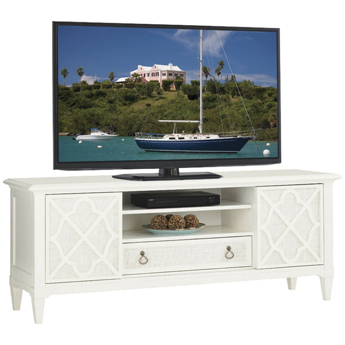 Tommy Bahama Ivory Key Warf Street Entertainment Console 543-907