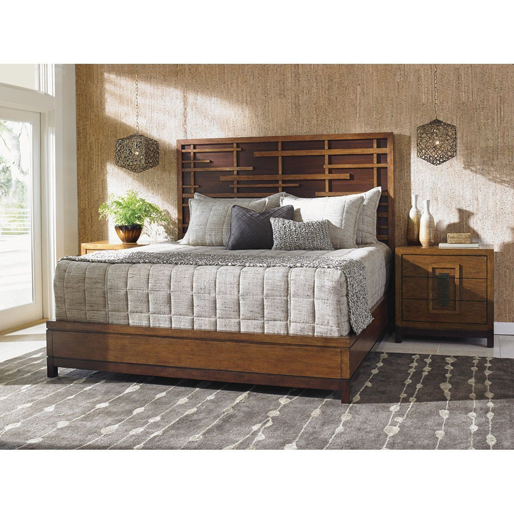 Tommy Bahama Island Fusion Shanghai Panel Bed
