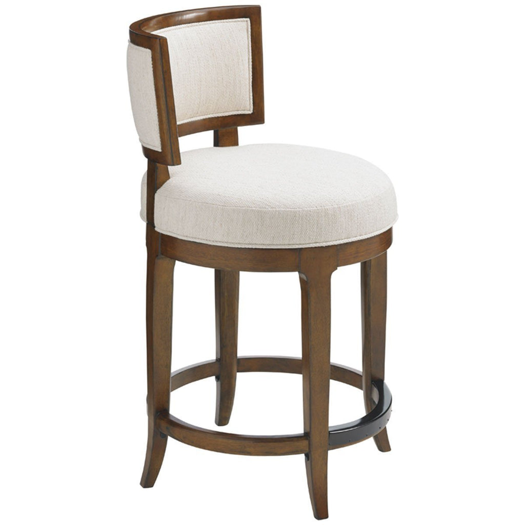 Tommy Bahama Island Fusion Macau Swivel Counter Stool