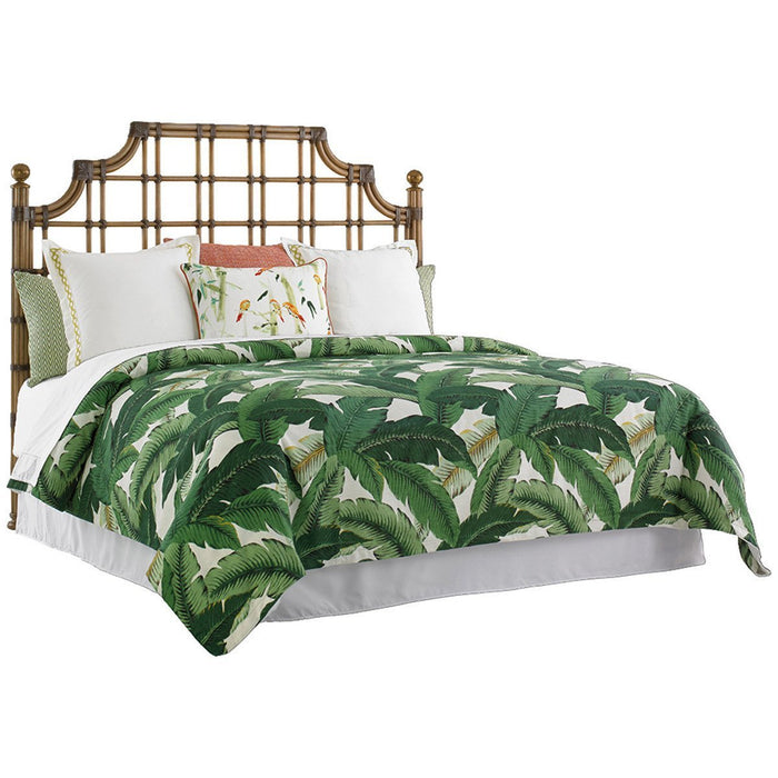 Tommy Bahama Twin Palms St. Kitts Rattan Headboard