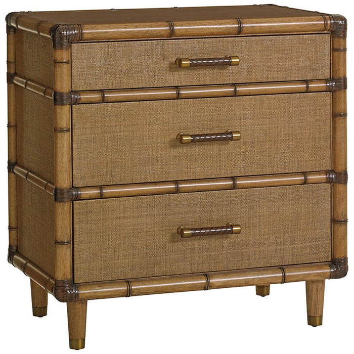 Tommy Bahama Twin Palms Parrot Cay Nightstand