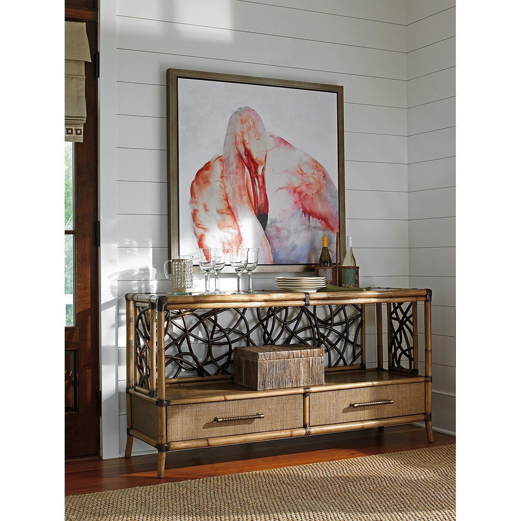 Tommy Bahama Twin Palms Sonesta Serving Console Table