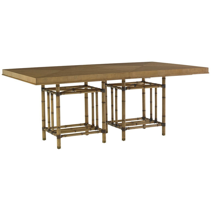 Tommy Bahama Twin Palms Caneel Bay Rectangular Dining Table