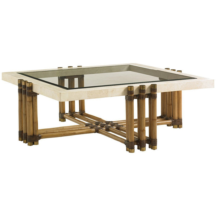 Tommy Bahama Twin Palms Weston Cocktail Table
