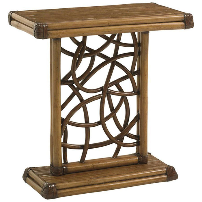 Tommy Bahama Twin Palms Angler Accent Table