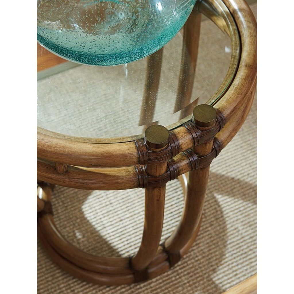 Tommy Bahama Twin Palms Turtle Beach End Table