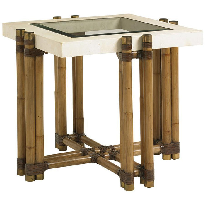 Tommy Bahama Twin Palms Los Cabos Lamp Table