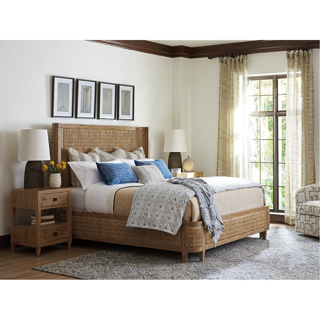 Tommy Bahama Los Altos Ivory Coast Woven King Bed
