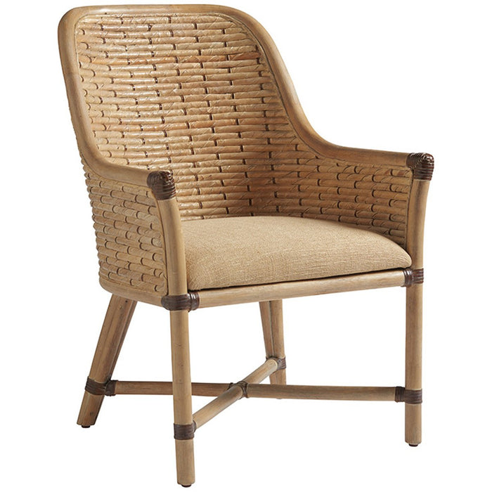Tommy Bahama Los Altos Keeling Woven Arm Chair
